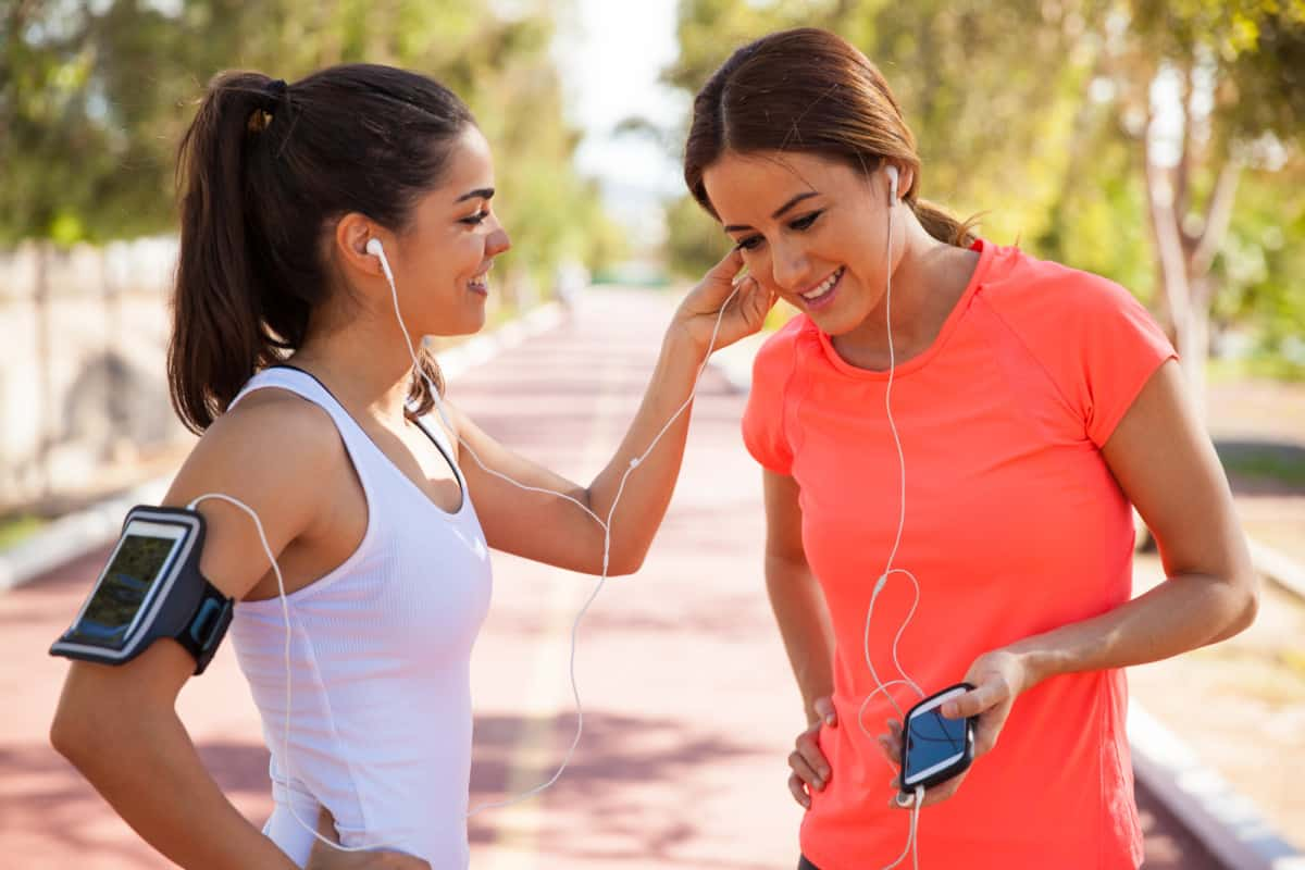 sharing headphones and earbuds